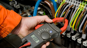 Multimeter used to test electrical systems